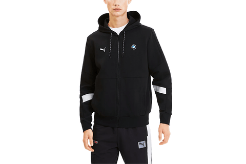 BMW MMS HOODED SWEAT JACKET - 596097-01 MENS SOFTGOODS PUMA