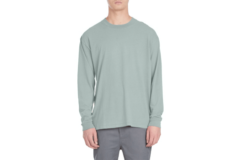 BOX LS TEE - 128-CON MENS SOFTGOODS ZANEROBE