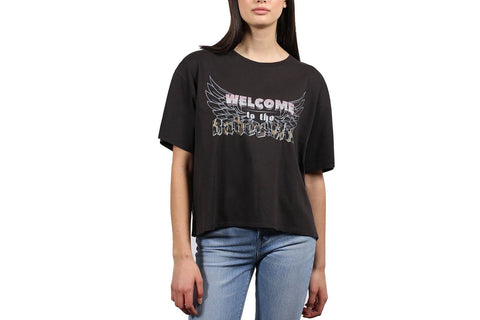 BABES CLUB VINTAGE BOXY TEE-BTL175 WOMENS SOFTGOODS BRUNETTE THE LABEL