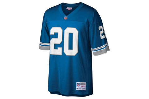 NFL LEGACY JERSEY BARRY SANDERS #20 DETROIT LIONS MENS SOFTGOODS MITCHELL & NESS