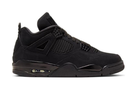 AIR JORDAN 4 RETRO 'BLACK CAT' - CU1110-010 MENS FOOTWEAR JORDAN