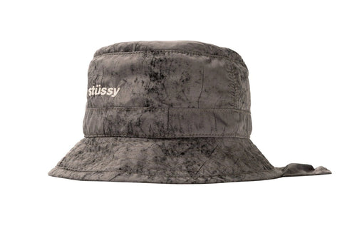 DYED NYLON BUNGEE BUCKET HAT - 132977 HATS STUSSY