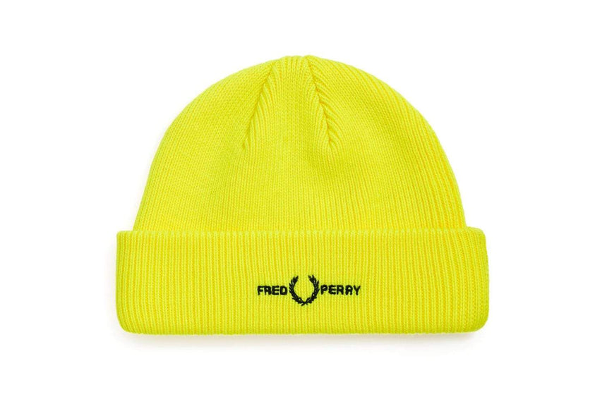 GRAPHIC BRANDED BEANIE - C9153 MENS ACCESSORIES FRED PERRY