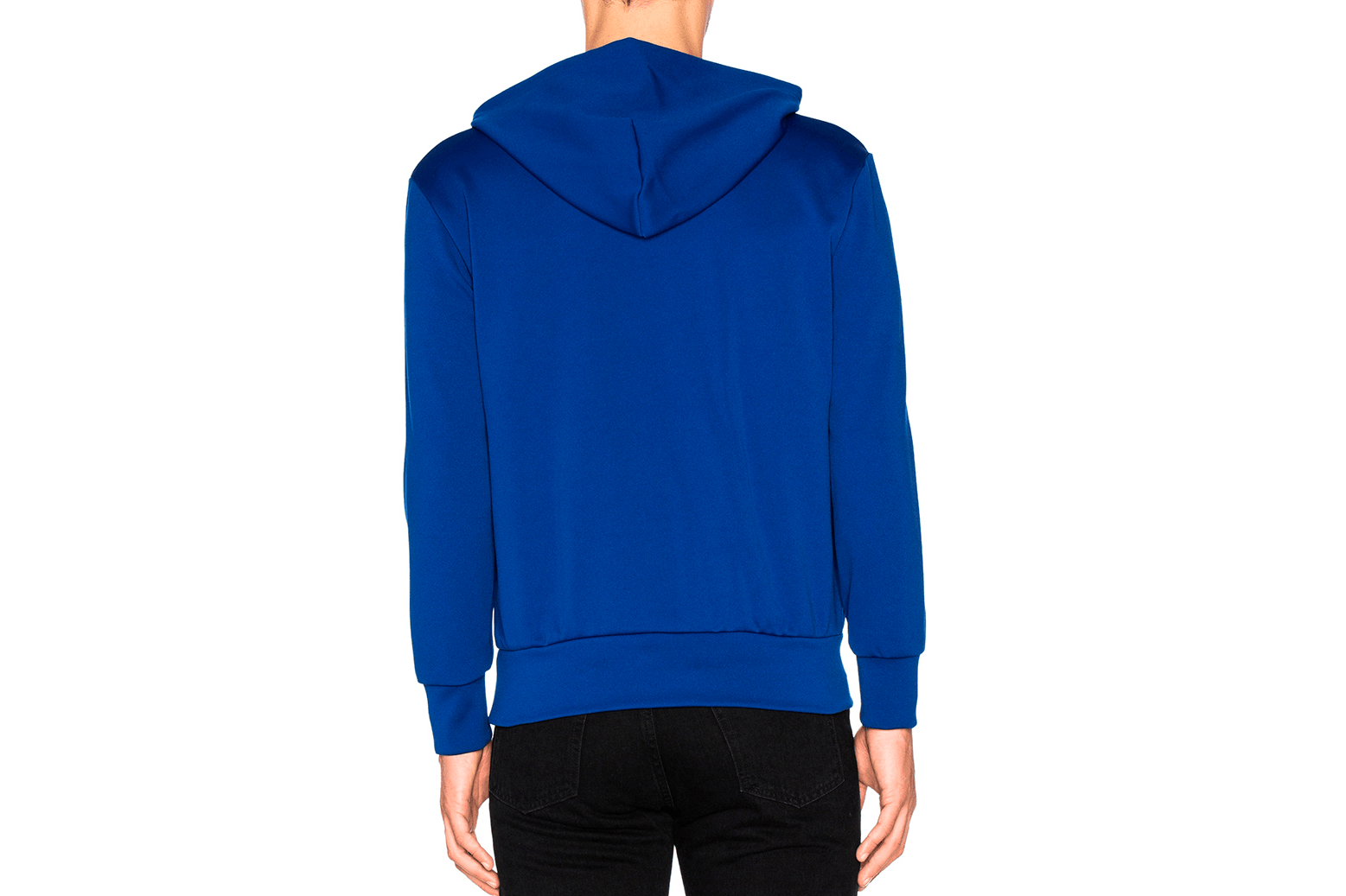 RED EMBLEM LIGHTWEIGHT HOODIE-AZT174 MENS SOFTGOODS COMME DES GARCONS