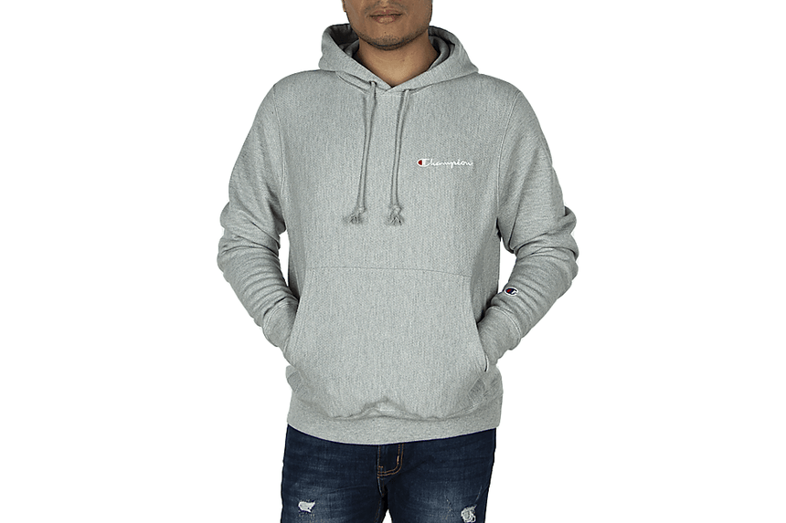REVERSE WEAVE PO HOOD 'CHAMPION' CHEST - GF68 MENS SOFTGOODS CHAMPION
