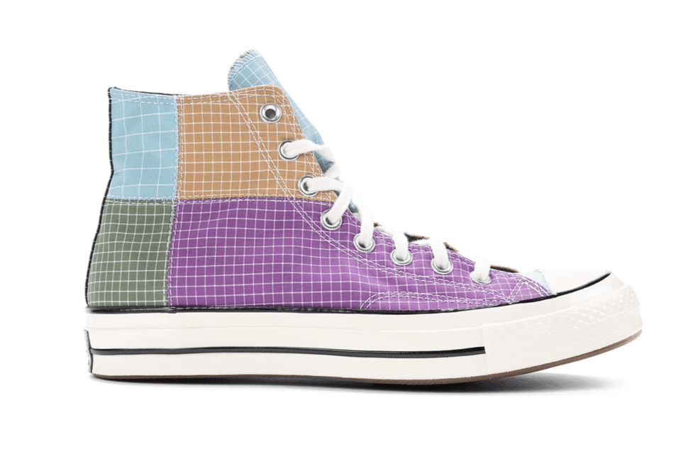 CONVERSE CHUCK 70 HI DEWBERRY/ICED COFFEE SIDE VIEW