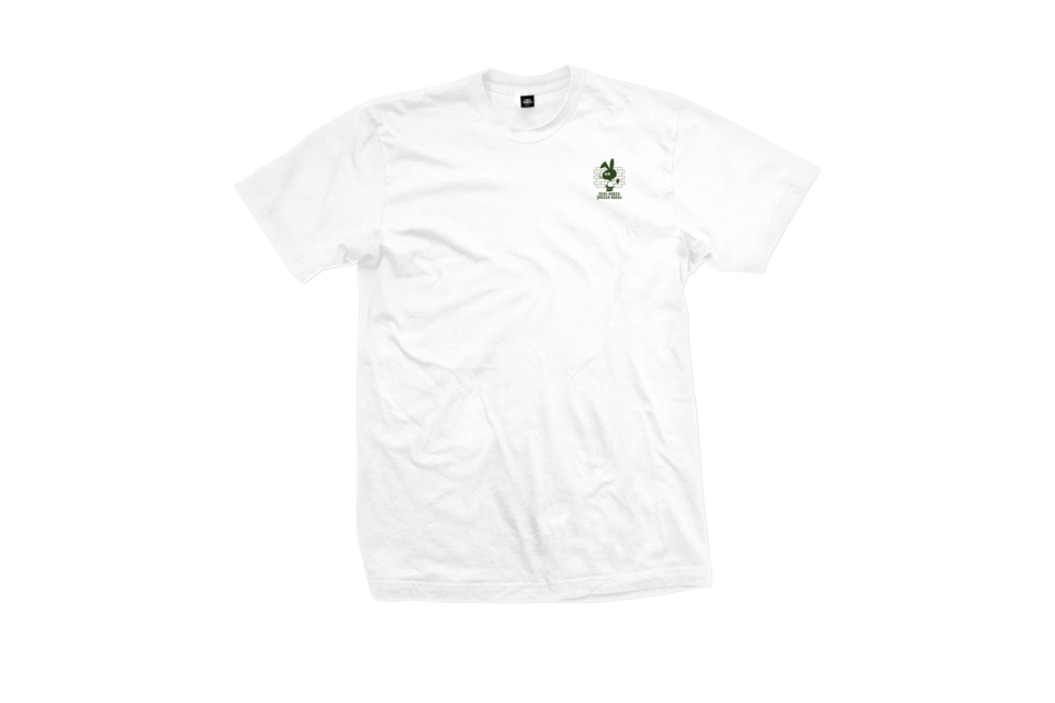 Cold Brick Squad T-shirt in White by Cold World Frozen goods.