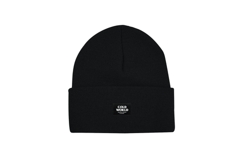 COLD WORLD LOGO BEANIE