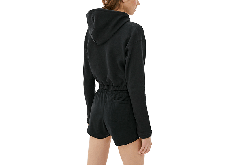 CROPPED HOODIE - FM2513 WOMENS SOFTGOODS ADIDAS