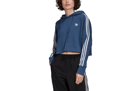 CROPPED HOOD - FM3273 WOMENS SOFTGOODS ADIDAS