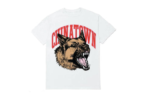 WHITE BEWARE T SHIRT - 1990274