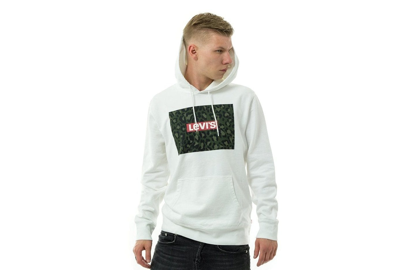 GRAPHIC PULLOVER HOODIE - 419219 MENS SOFTGOODS LEVIS