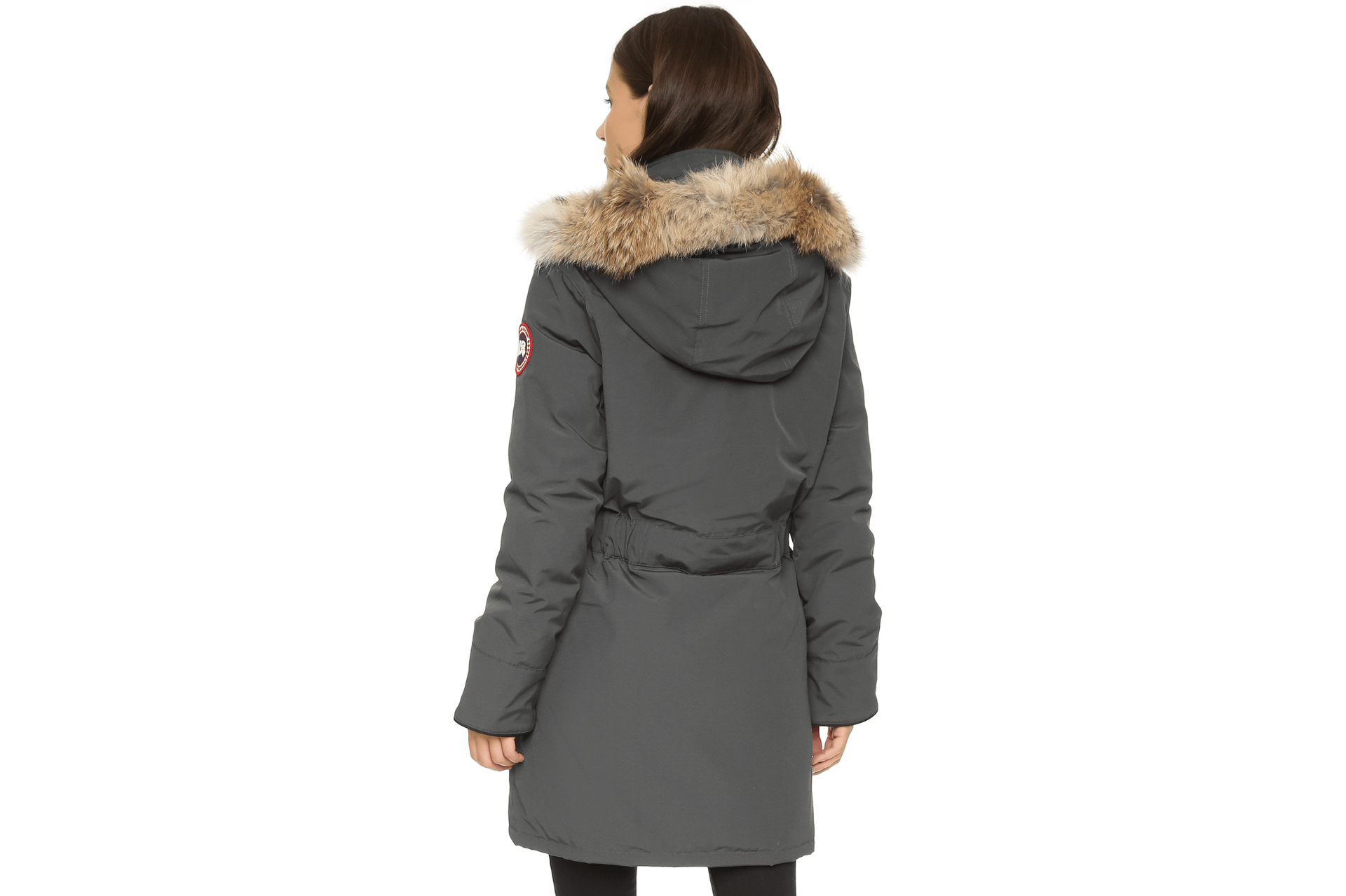 TRILLIUM PARKA HD-6660 GRAPHITE BACK VIEW