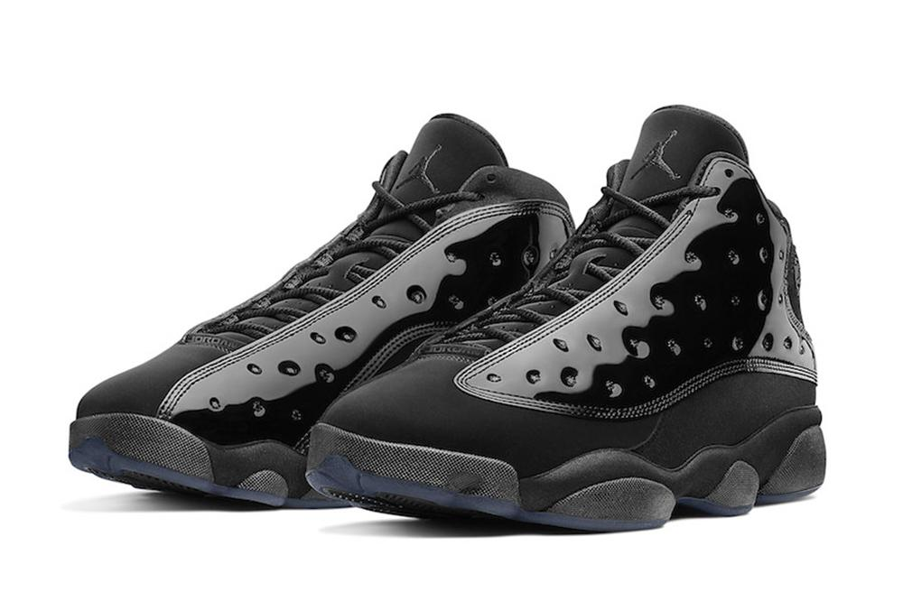best loved a6f33 0fe55 AIR JORDAN 13 RETRO  BLACK BLACK  - 414571-012 MENS FOOTWEAR JORDAN