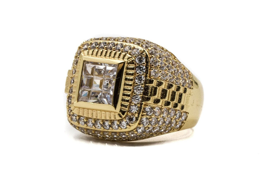CHAMPIONSHIP RING JEWELRY GOLDEN GILT