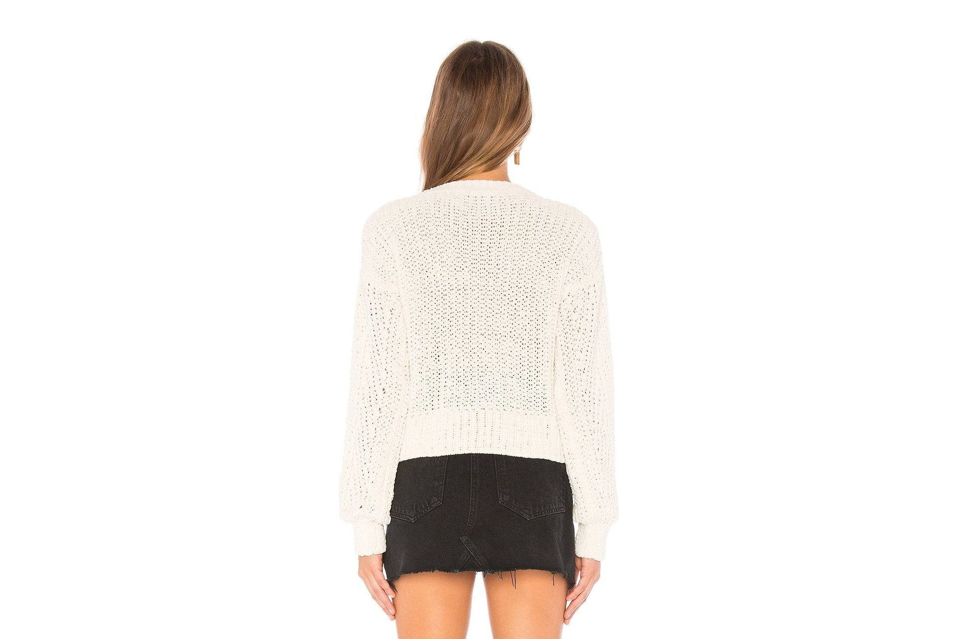 NEW CITY KNIT SWEATER - IM19F1812 WOMENS SOFTGOODS MINK PINK