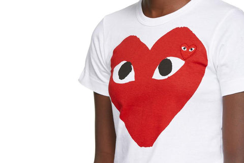 BIG RED HEART TEE - AZT025