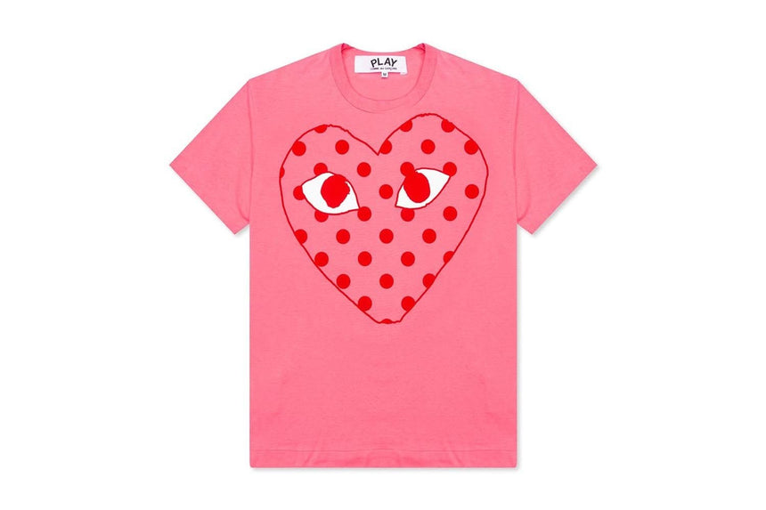 WOMENS PASTELLE TSHIRT - AZT275 WOMENS SOFTGOODS COMME DES GARCONS