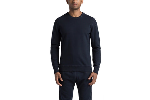 KNIT MID WEIGHT TERRY LONG SLEEVE CREW - RC-3207 MENS SOFTGOODS REIGNING CHAMP