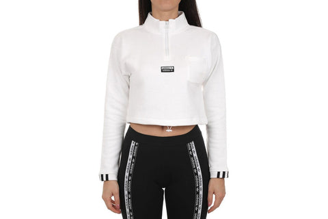 CROPPED SWEATER - FM2505 WOMENS SOFTGOODS ADIDAS