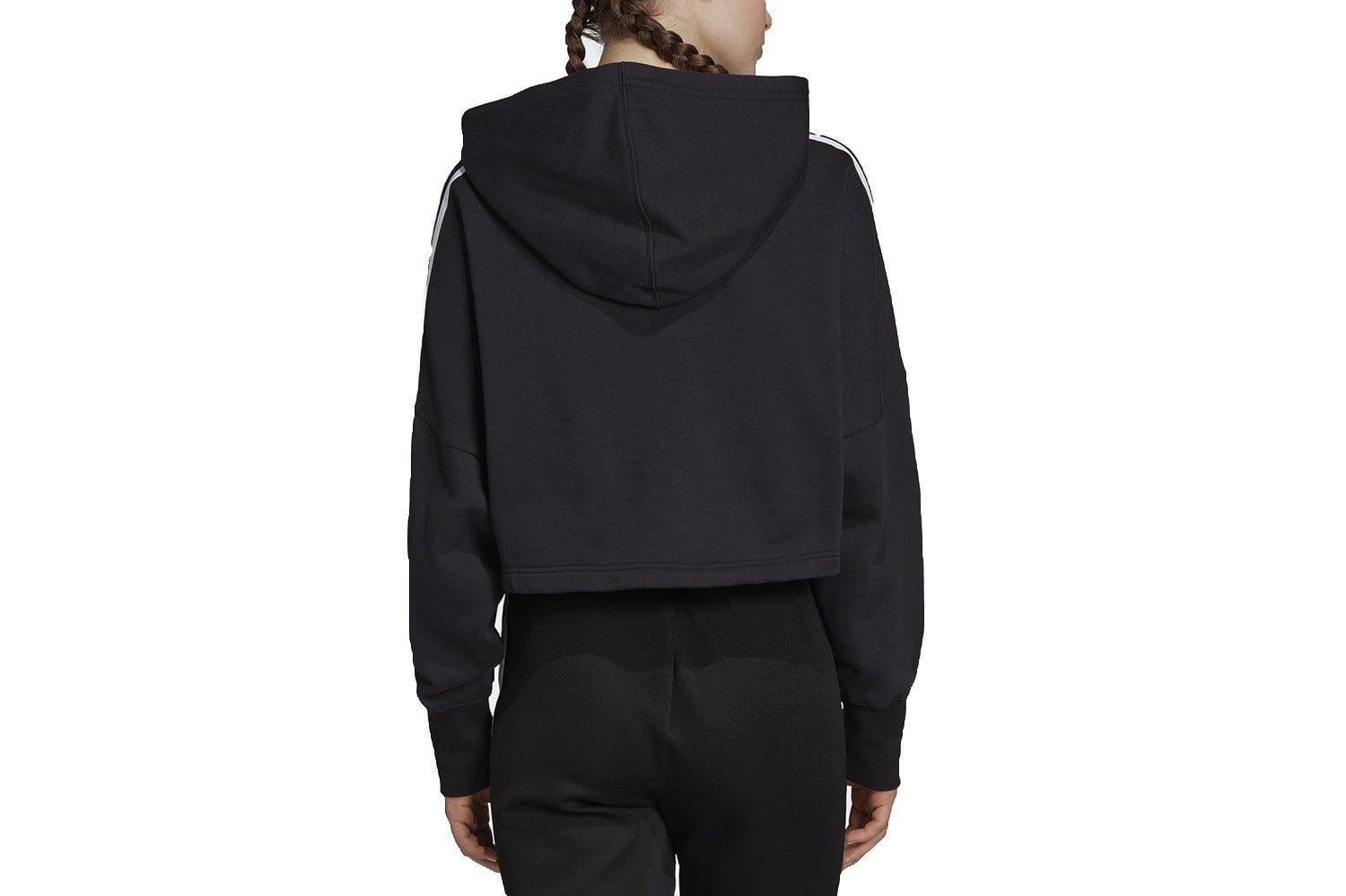 CROPPED HOOD - ED7554 WOMENS SOFTGOODS ADIDAS