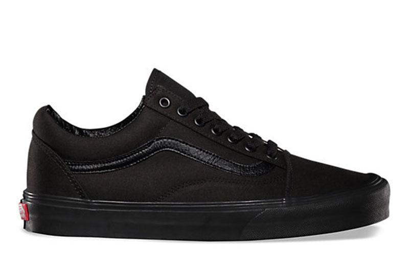 W OLD SKOOL WOMENS FOOTWEAR VANS BLACK/ BLACK 6