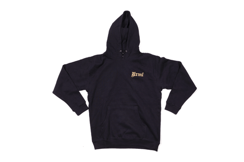 NRML OLD ENGLISH LOGO HOODIE