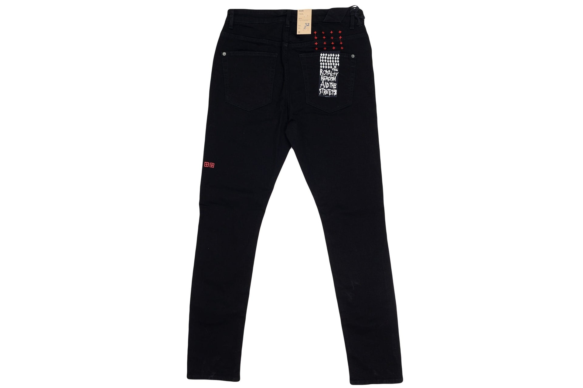 CHITCH LAID BLACK MENS SOFTGOODS KSUBI