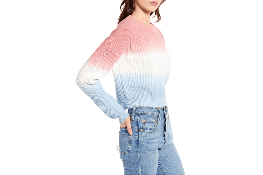 FINAL FORM KNIT SWEATER - IM20S1801 WOMENS SOFTGOODS MINK PINK