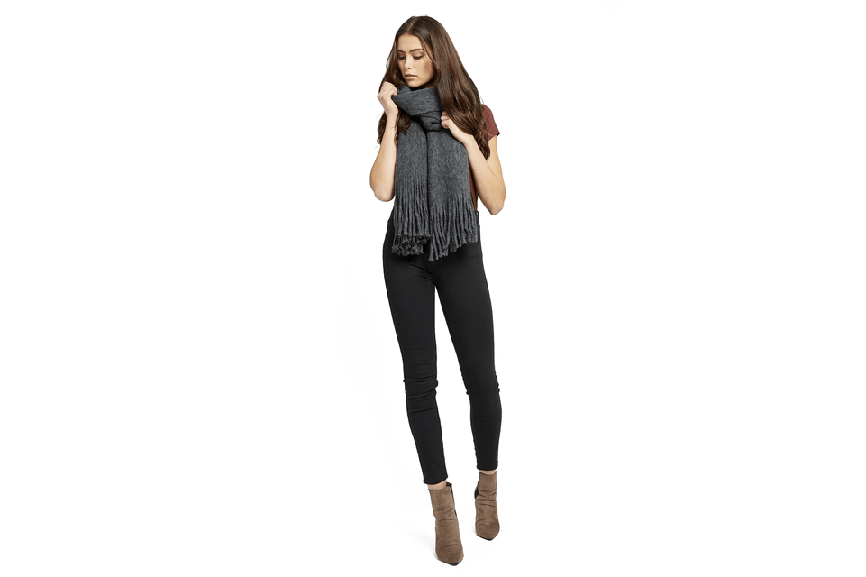 FIRST CLASS SCARF - GF195-9188 WOMENS ACCESSORIES GENTLEFAWN