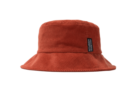 FRANCIS CORDUROY BUCKET HAT - 232236 WOMENS HATS STUSSY