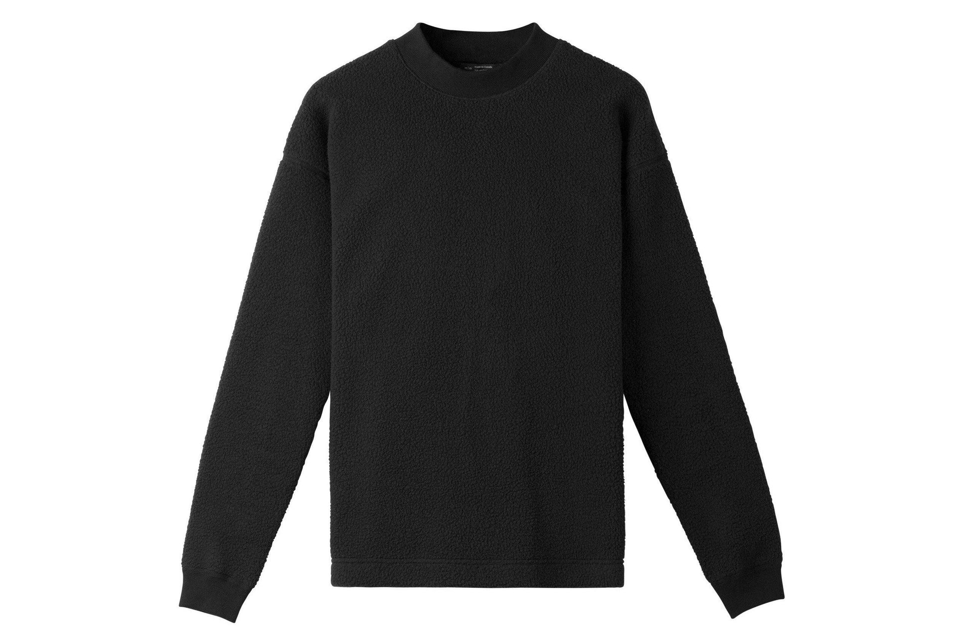 SHERLING CREWNECK MENS SOFTGOODS WINGS+HORNS BLACK S
