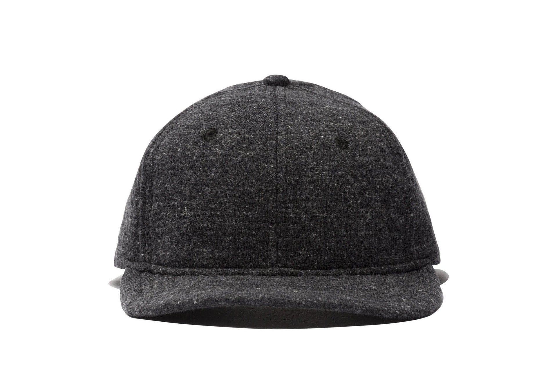 KNIT CABIN FLEECE 6-PANEL HAT HATS WINGS+HORNS CHARCOAL ONE SIZE