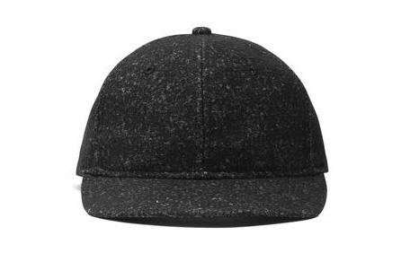 KNIT WOOL 6-PANEL HAT