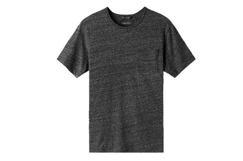 KNIT SPLASH JERSEY POCKET TEE