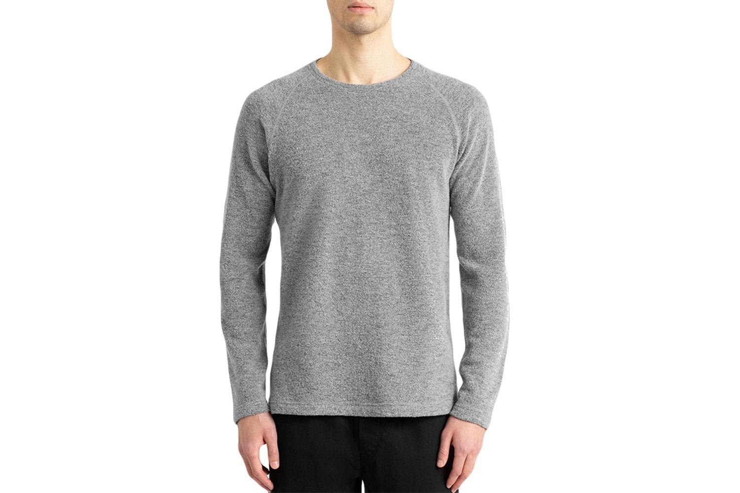 KNIT FELTED WOOL CREWNECK MENS SOFTGOODS WINGS+HORNS