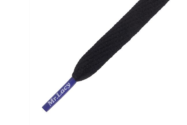 MR LACY SHOELACES ACCESSORIES MR LACY BLACK/VIOLET ONE SIZE