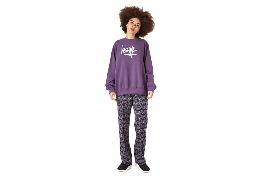 FLIP CREW FLEECE - 218080 WOMENS SOFTGOODS STUSSY