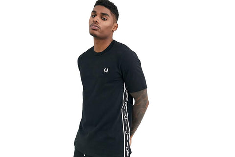 TAPED SIDE T-SHIRT MENS SOFTGOODS FRED PERRY