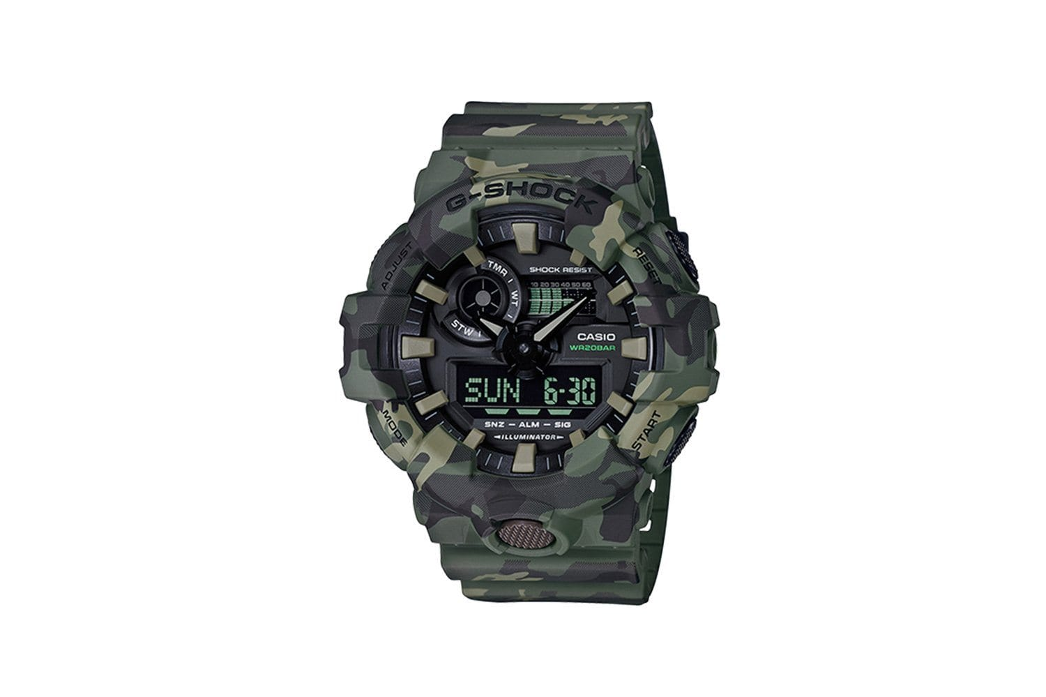 GA700CM-3A - SEASONAL CAMO WATCHES CASIO