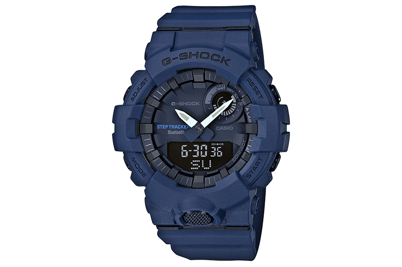 G SHOCK STEP TRACKER - GBA800-2A WATCHES G-SHOCK BLUE OS