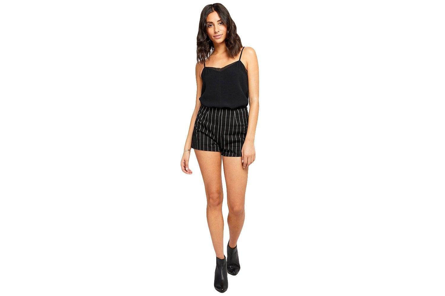 PIERCE - GF191-7114 WOMENS SOFTGOODS GENTLEFAWN BLACK STRIPE 10