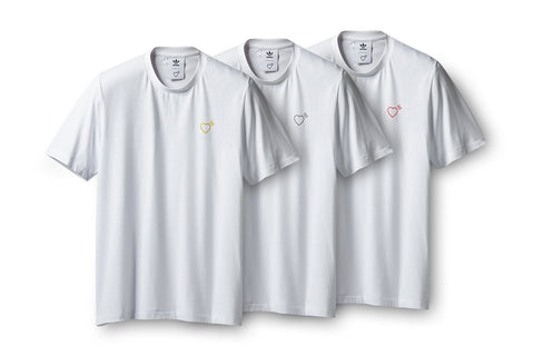 HUMAN MADE THREE-PACK TEE - GM4187 MENS SOFTGOODS ADIDAS