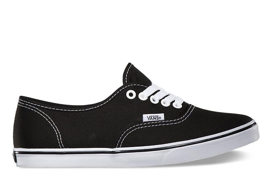 W AUTHENTIC LO PRO - WOMENS FOOTWEAR VANS BLACK/ TRUE WHITE 5.5 VN000GYQ6BT