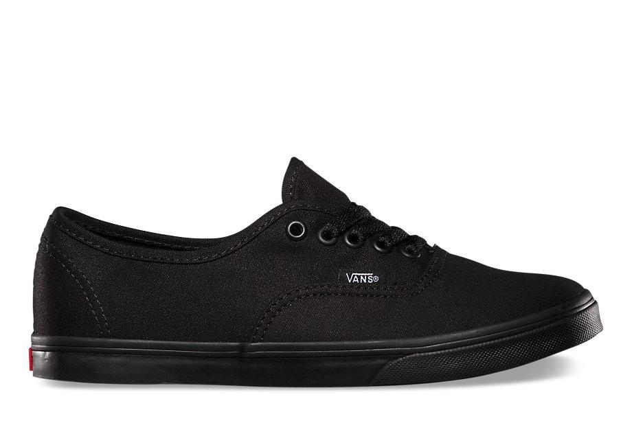 W AUTHENTIC LO PRO WOMENS FOOTWEAR VANS BLACK/ BLACK 5.5 VN000GYQBKA