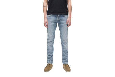 GRIM TIM - 112935 MENS SOFTGOODS NUDIE JEANS LIGHT BLUE COMFORT 32