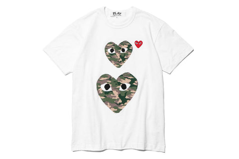 TWIN CAMOUFLAGE HEARTS - AZT246