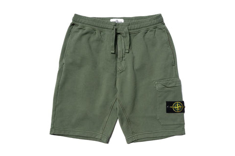 FLEECE SHORTS - MO721564651-V0058 MENS SOFTGOODS STONE ISLAND