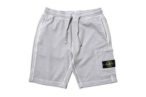 FLEECE SHORTS - MO721563460-V0164 MENS SOFTGOODS STONE ISLAND