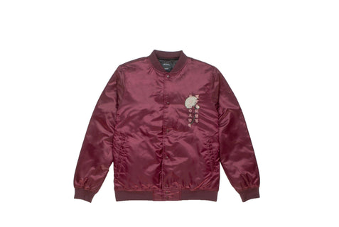 HEAVEN'S GATE SATIN JACKET